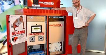 водородный котел отопления Giacommini