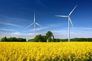 Ветряная установка для добычи энергии