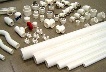 Детали системы отопления из полипропилена