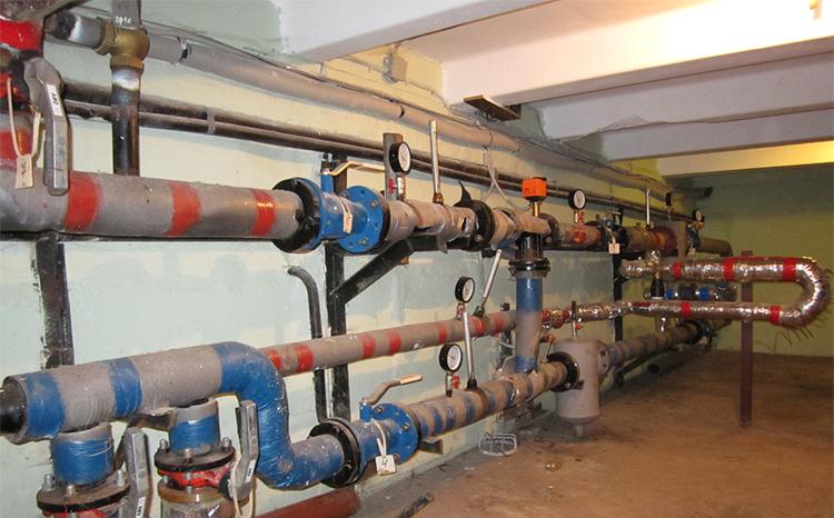 Элеватор системы отопления