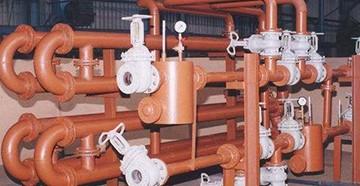 Элеватор отопления в подвале