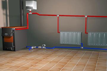 Бак открытого типа в системе отопления