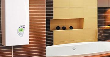 Выбор электрического проточного водонагревателя