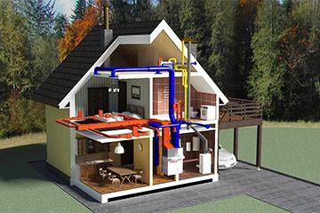 Организация отопительной системы в частном доме