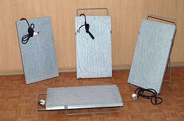 Кварцевый прибор для обогрева помещения