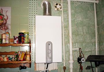 Использование газового водонагревателя