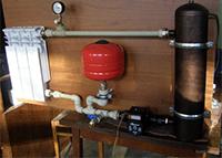 Система отопления с индукционным котлом