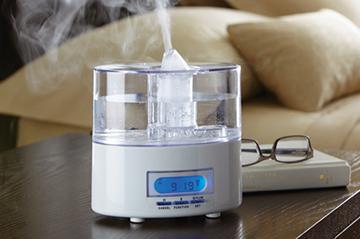 Компактный прибор для увлажнения воздуха