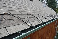 Греющий кабель на крыше