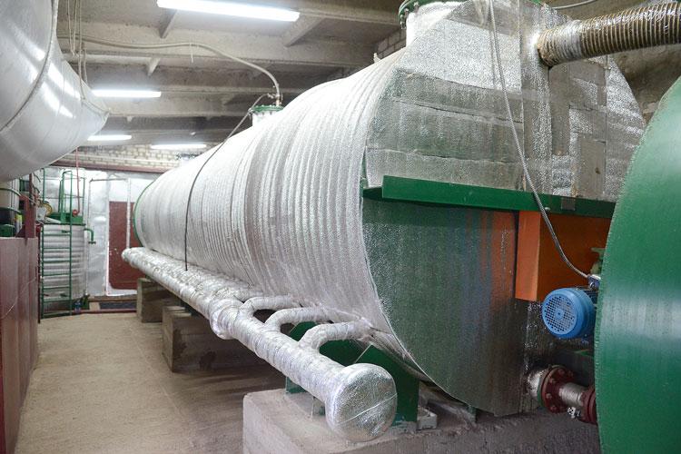Установка для биогаза