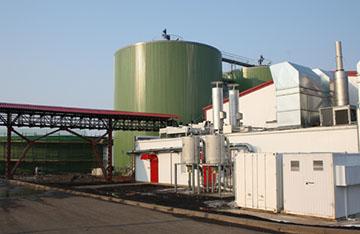 Комплекс по переработке биомасс
