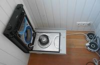 Вентиляционная установка на балконе