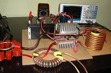 Конструкция самодельного нагревателя
