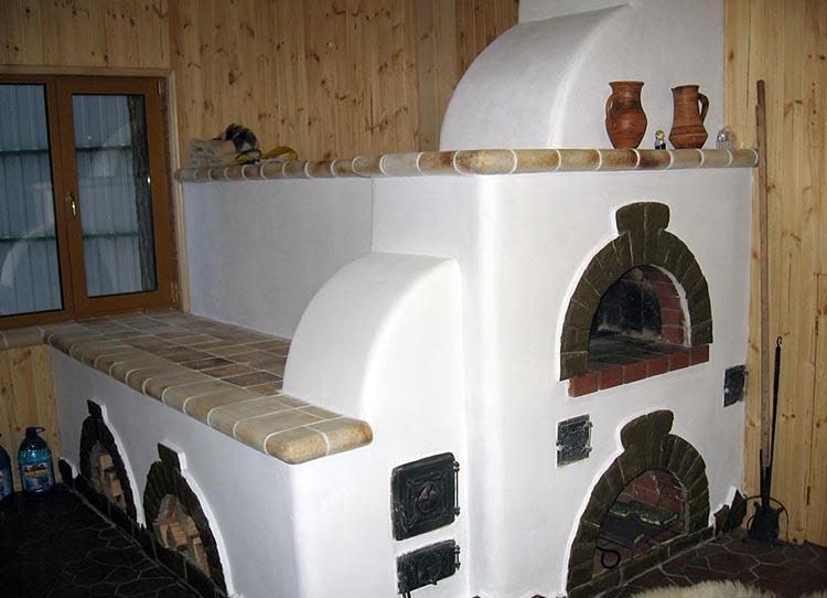 Печь с полатями