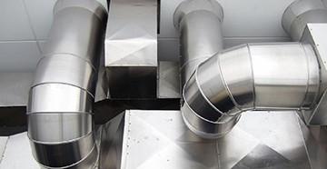 Металлические вентиляционные трубы