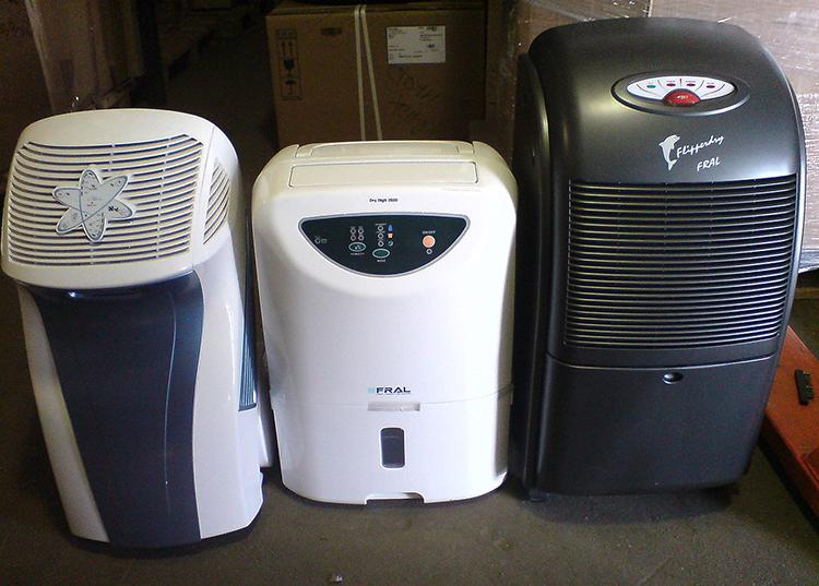 Приборы для осушения воздуха