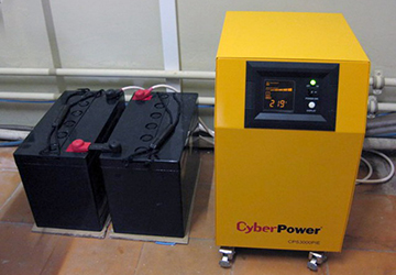 ИБП Cyber Power с аккумулятором