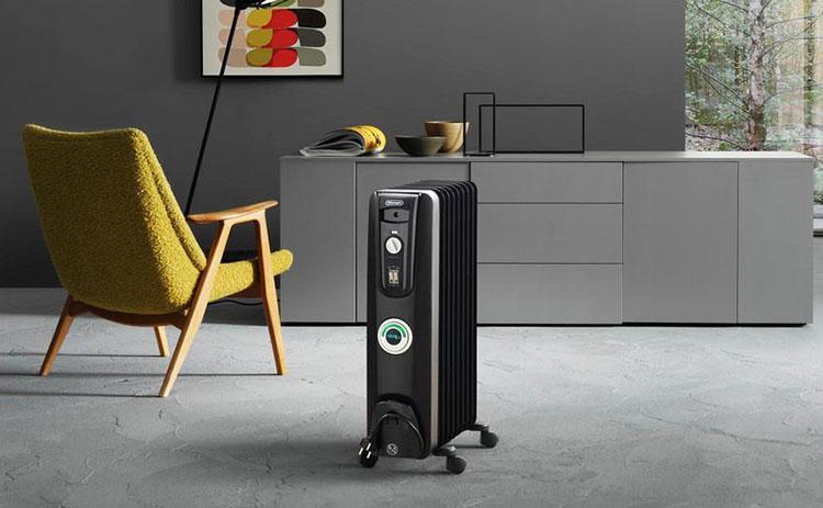 Радиатор масляный в помещении
