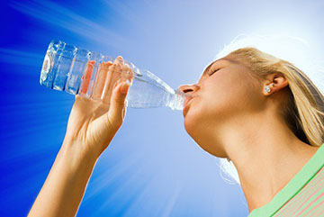Вода для охлаждения