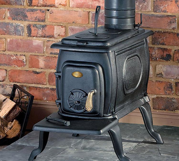 Печка прямоугольной формы