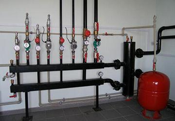 Монтаж отопительной системы с гидроразделителем