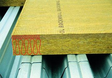 базальтовая изоляция для утепления плоской кровли Rockwool Dachrock Max