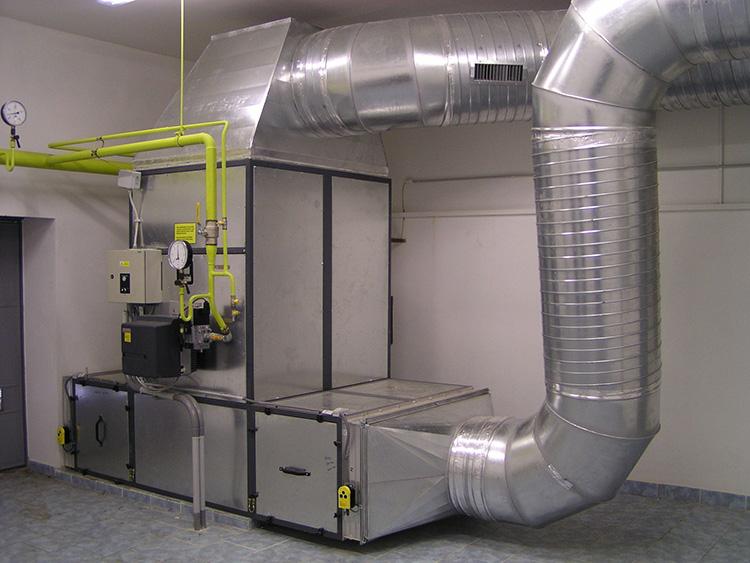 система отопления - готовая конструкция