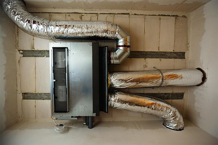 обогрев помещения тепловым насосом