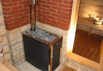 печка газовая