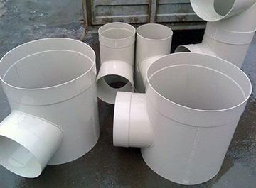 пластиковые вентиляционные воздуховоды