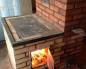 печка с плитой