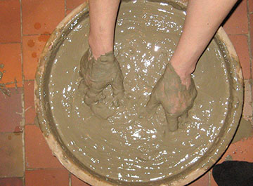 глиняный раствор