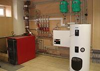 твердотопливный котел в системе водяного отопления