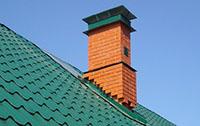 дымоход на скатной крыше