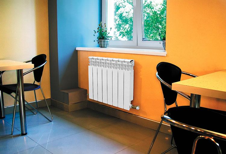 установленные радиаторы