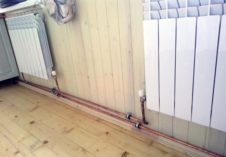 радиаторы в двухтрубной системе