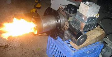 горелка на дизельном топливе