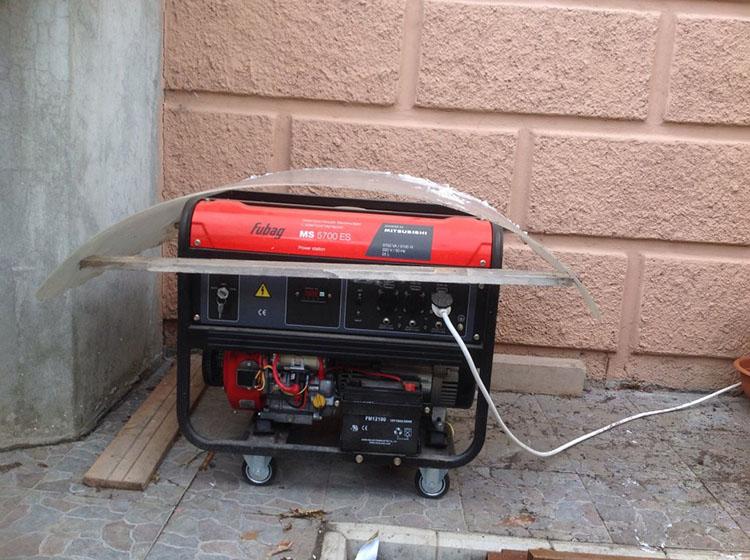генератор на дизельном топливе