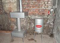 самодельная печка