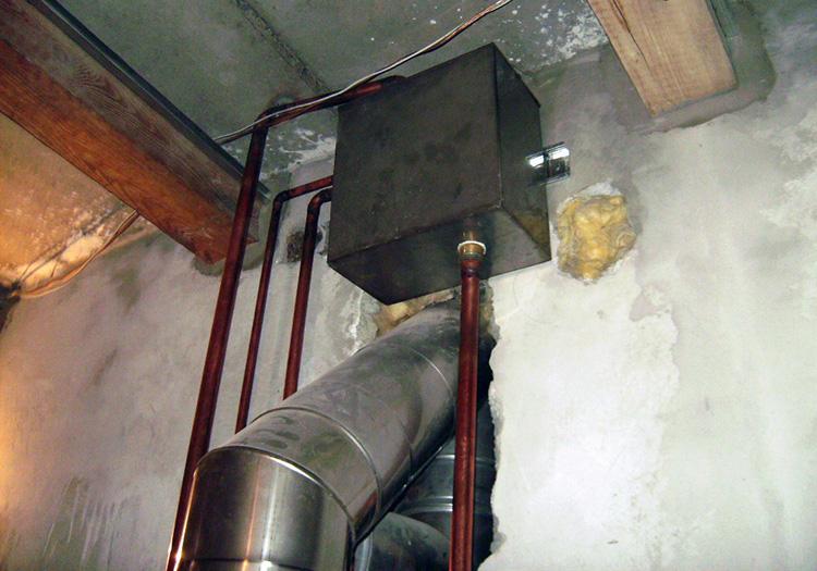 подключение водяного контура к отоплению
