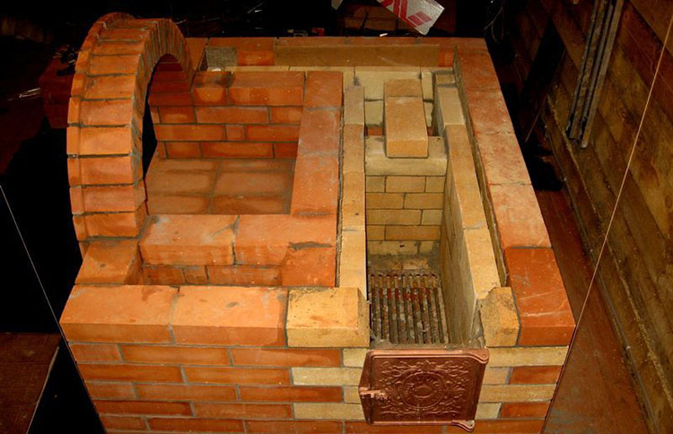 постройка камина
