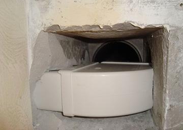 принудительная вентиляция в ванной комнате и туалете