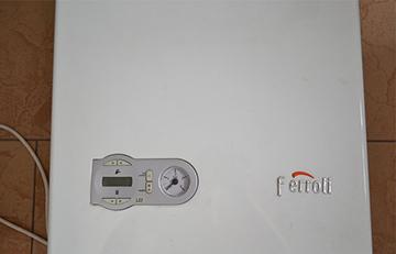 панель управления котла Ferroli