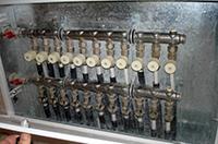коллектор системы отопления