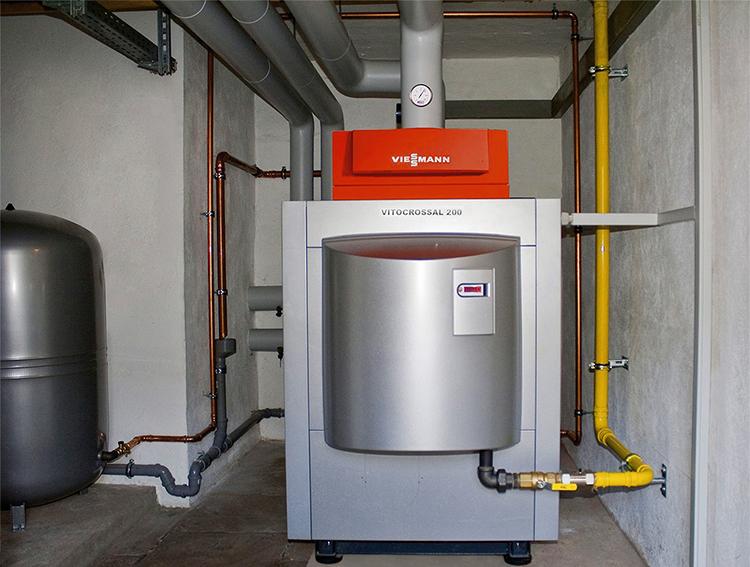 Конденсационный газовый котел отопления