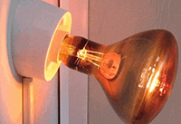 ИК-лампа для дома