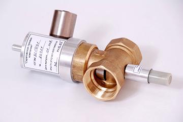 Клапан запорный газовый с электромагнитным приводом