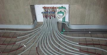 Водяное отопление - разводка