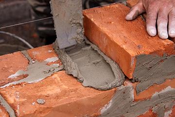 Кирпич для камина - кладка на цемент