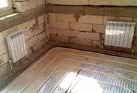 Монтаж водяного отопления в частном доме